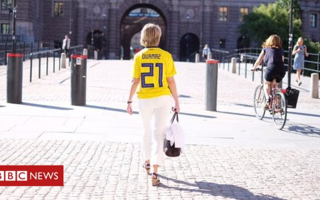 102239385 annika strandhall - World Cup 2018: Swedes reject racism after group stage win