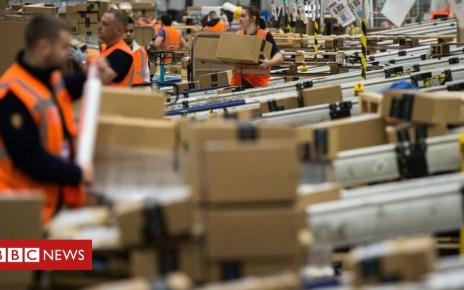 99852136 amazonwarehousegetty - Amazon to buy online pharmacy PillPack