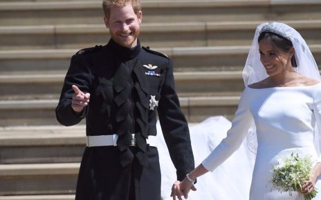 p067mzk8 - Royal wedding 2018: Meghan 'cried' about dad missing wedding