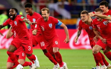 102367869 p06csmh7 - World Cup 2018: England's historic penalty shootout win against Colombia in full