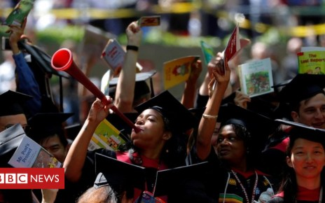 102368347 tv047020756 - Affirmative action: Trump 'to scrap' college racial bias policy