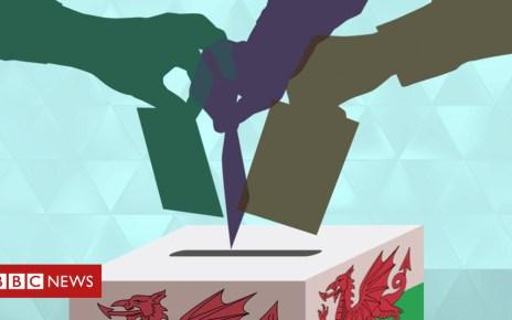 102373203 ballotbox welshflag - Change in Wales