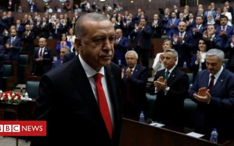 102431619 047991602 1 - Turkey purges more workers ahead of Erdogan swearing-in