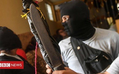 102453260 da37b4c8 80b2 4714 9616 1e6c8751520f - Nicaragua unrest: Bishop's anger as people die in clashes