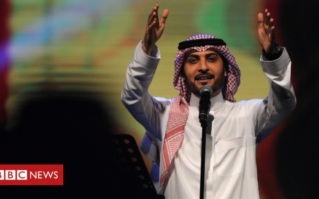 102527136 mediaitem102527135 - Saudi Arabia woman 'arrested for hugging' singer Majid al-Mohandis