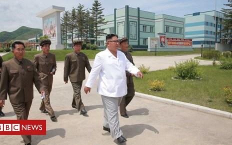 102557612 2d228410 3f45 4529 8d0d 888648a05903 - Kim Jong-un blasts delays in North Korean economic progress