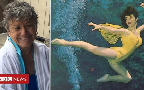 102582740 vickicomp - A 'legendary' mermaid still swimming at 78