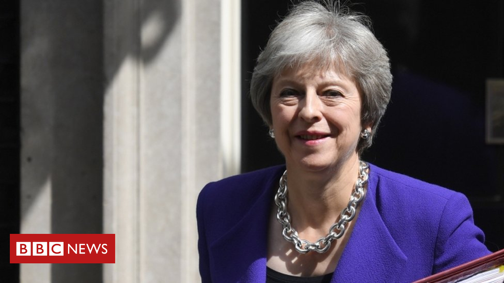 102605454 tv048223710 - Theresa May announces new environment bill