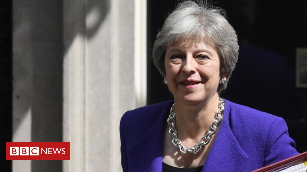 102605454 tv048223710 - Theresa May announces new environment bill