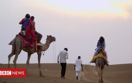 102613974 p06f5t8r - 'Glamping' in India's Thar desert