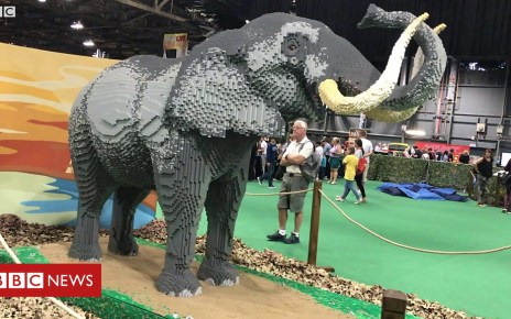 102616424 p06f65yv - UK's largest Lego event under way in Glasgow