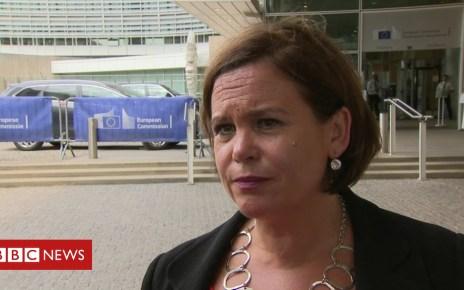102659312 ml - Sinn Féin says UK government 'seeking to row back' on backstop