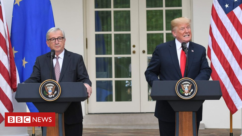 102693970 mediaitem102693969 - Trump: US and EU agree to work towards lower trade barriers