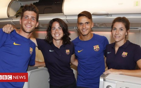 102699022 1e09f92b 152a 4cbe a61e ca57e5d50a48 - Barcelona women's team relegated to economy