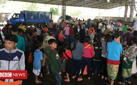 102703367 reliefshelter2 - Laos dam collapse: Survivors and NGOs query official toll