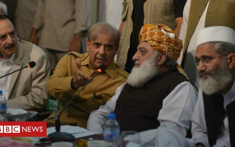 102722941 048376403 - Pakistan election: Rival parties reject result and call for new poll