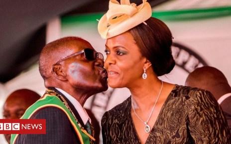 102755204 gracemugabe - Grace Mugabe faces South Africa arrest warrant