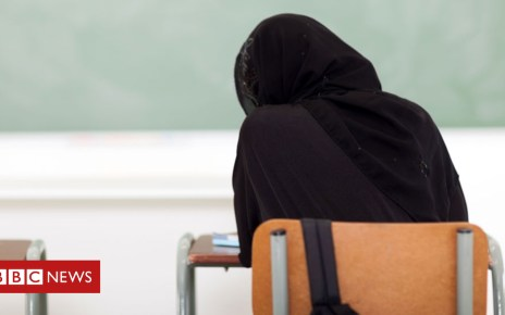 99227965 hijab stock alamy - Nigeria student graduates after hijab row