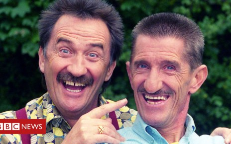101050562 chucklebbc cut - 'To me, to you!' What makes a great double act?