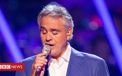 102824623 andreabocelli - Andrea Bocelli to perform for Pope at Dublin event