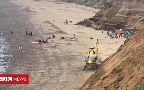 102826484 happisburgh - Teenage girl hurt in Happisburgh cliff collapse