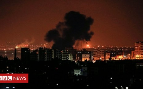 102888457 afp - Israeli air strikes 'kill pregnant woman and baby'
