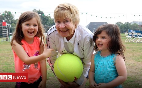 102929058 p06h4ktf - Framlingham's 'grandma tennis' plays her 60th Suffolk tournament
