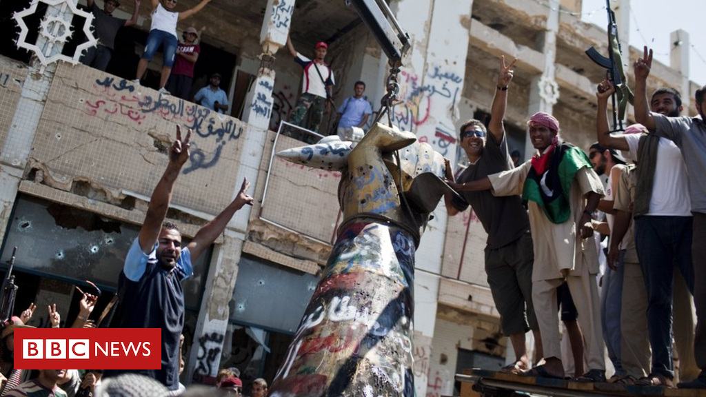 103032247 gettyimages 128425608 - Libyan court sentences 45 to death over 2011 killings