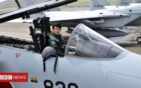 103155611 mediaitem103155610 - Japan's first woman fighter pilot to blaze a trail in skies
