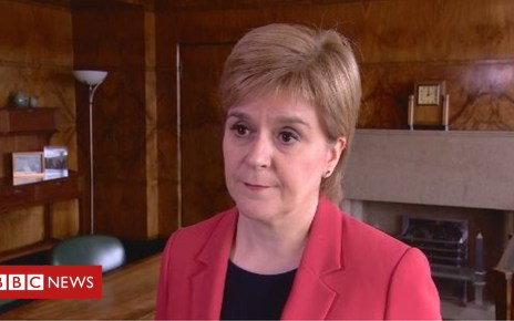 103160622 sturgeon - Nicola Sturgeon: 'It is a difficult situation'