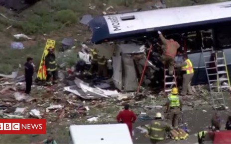 103245608 capt785675ure - Greyhound bus crash: Seven killed in New Mexico collision