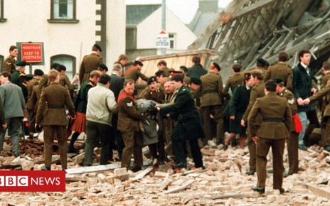 98649576 enniskillen soldiers1 - Troubles victims' mental health 'epidemic'