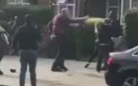p06hs36c - Newham police escape: Cheering onlookers condemned