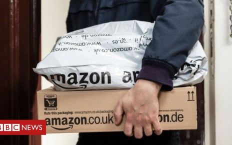 102972880 amazonpackages getty - Amazon becomes world's most valuable public company