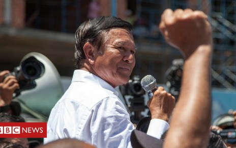 103208433 gettyimages 452211134 - Kem Sokha: Jailed for standing up to Cambodia's strongman