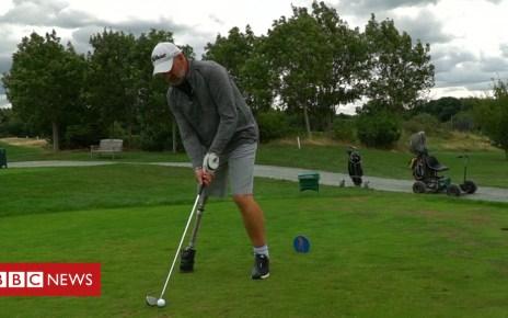103242147 golferpaulfromvtaim - One-legged golfer sues council-run course for discrimination