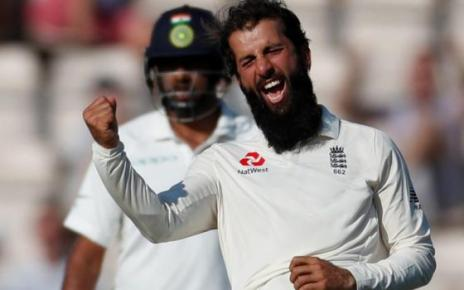 103266788 moeen ali reuters - England v India: Hosts win fourth Test by 60 runs to wrap up series