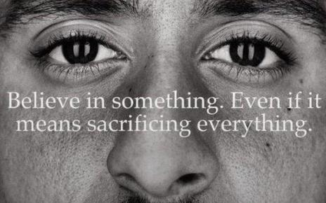 103299131 ck - Colin Kaepernick: Donald Trump criticises Nike after advert, saying NFL is 'hard to watch'