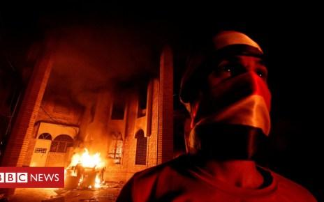 103339813 8907d0b8 4055 41bc b55b 0111f54dda10 - Basra protests: Rioters attack Iran consulate