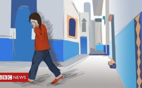 103381299 sexual harassment morocco street woman - Morocco bans forced marriage and sexual violence