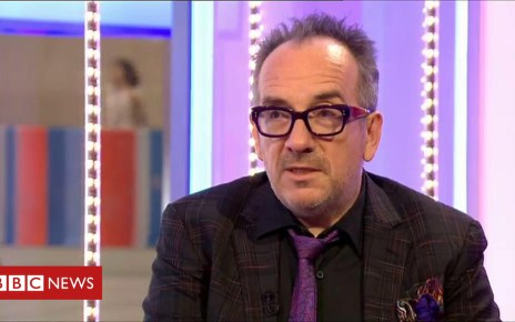 103407725 p06l1r3r - Elvis Costello says he is 'lucky' after cancer scare
