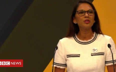103463643 p06ldpb5 - Gina Miller speaks to Liberal Democrat party conference