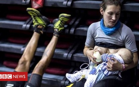 103477852 p06lh0bq - Ultra runner Sophie Power on breastfeeding during a 103-mile race