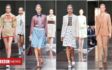 103477915 burberry - Burberry's Riccardo Tisci shows off first collection at LFW