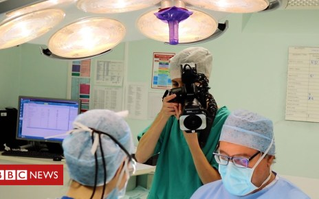 103534525 p06lv076 - Life as a medical photographer at Addenbrooke's Hospital