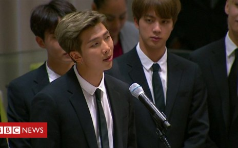 103562455 p06m2c8q - K-pop star gives speech at the United Nations