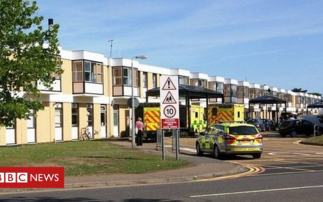 103564509  90753739 qehexterior2011 - King's Lynn QE Hospital may suspend some surgery