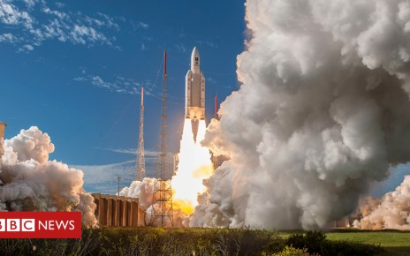103572664 body - Europe's Ariane-5 rocket primed for 100th flight