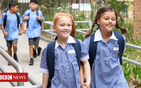 103584438 friendsbluegetty - Best friends forever; How friendship boosts pupils' grades