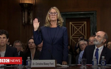 103608445 p06mb173 - Christine Blasey Ford: 'I am terrified'